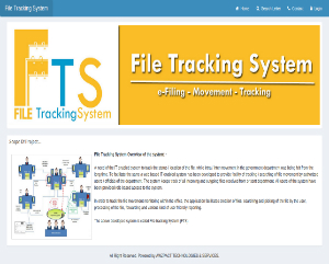 File Tracking System FTS